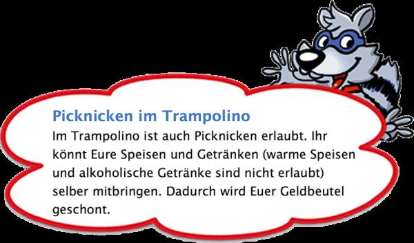 Trampolino Kinderparadies in der Schweiz