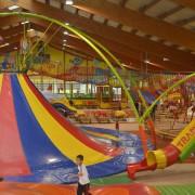 Trampolino Überdachter Spielplatz in der Schweiz