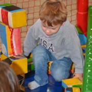 Trampolino Indoorspielplatz für Kleinkinder ab 2 Jahren