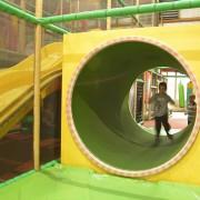 Trampolino Spielplatz für Kinder ab 2 bis 15 Jahren