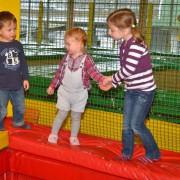 Trampolino Indoorspielplatz Schweiz Dietikonmit großem Kleinkind Bereich