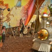 Trampolino überdachter Spielplatz Schweiz Dietikon Kleinkindbereich bis 6 Jahren
