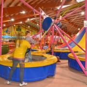 Trampolino Kinderspielplatz in Dietikon in der Schweiz für Kinder ab 2 Jahren