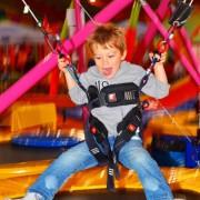 Trampolino Kinderspielplatz in Dietikon in der Schweiz mit Kleinkindbereich ab 2 Jahren