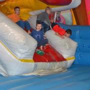 Trampolino Kinderspielplatz in Dietikon in der Schweiz mit Bungee-Springen und viel mehr
