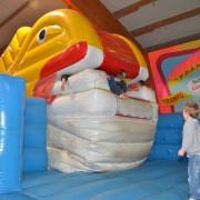 Trampolino Indoorspielplatz in Dietikon in der Schweiz mit Hüpfburg