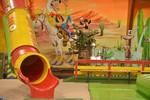 Trampolino Indoor Spielhalle bei Zürich Kindergeburstagsparty feiern