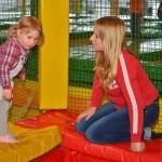 Trampolino überdachte Spielhalle Geburstagsparty feiern bei Zürich
